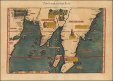 Indian Ocean, India, Southeast Asia and Other Islands Map By Lorenz Fries