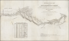 Plains and Rocky Mountains Map By John Charles Fremont / Charles Preuss