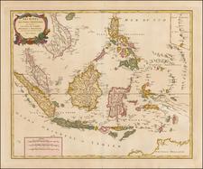 Southeast Asia, Philippines and Australia Map By Didier Robert de Vaugondy