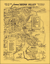 Washington and Pictorial Maps Map By Ed Pranger