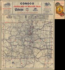 Rocky Mountains and Colorado Map By Rand McNally & Company