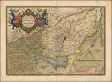 Veronae Urbis Territorium a Bernardo Bragnolo descriptium By Abraham Ortelius