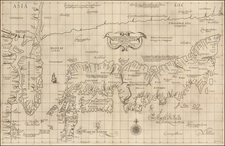 Japan and Korea Map By Robert Dudley