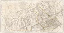 Mid-Atlantic and Pennsylvania Map By Nicholas Scull
