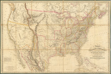 United States Map By Richard Holmes Laurie