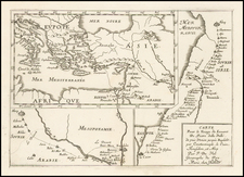 Middle East Map By Pierre Du Val