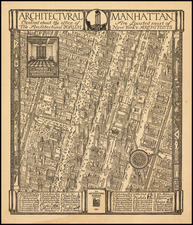 Map By Daniel K. Wallingford / The Architectural Forum