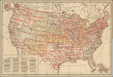 United States Map By Hoffman Bros