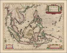 Southeast Asia, Philippines and Australia Map By Jan Jansson