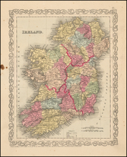 Ireland Map By Charles Desilver