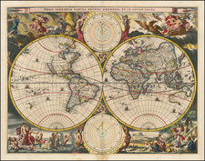 World and World Map By Hendrick Keur