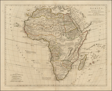 Africa and Africa Map By Robert Sayer