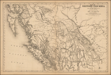 Alaska and Canada Map By Joseph William Trutch