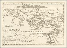 Turkey, Mediterranean and Turkey & Asia Minor Map By Pierre Du Val