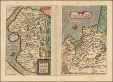 Poland and Baltic Countries Map By Abraham Ortelius