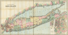 Map By G.W.  & C.B. Colton