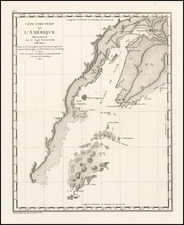 Alaska Map By George Vancouver