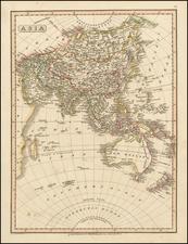 Asia, Australia & Oceania, Australia, Oceania and New Zealand Map By Charles Smith