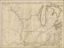 United States, Midwest and Plains Map By Abraham Bradley