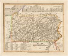 Mid-Atlantic and Pennsylvania Map By Joseph Meyer