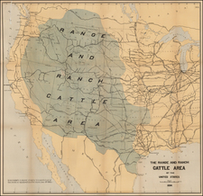 United States and Texas Map By Joseph Nimmo