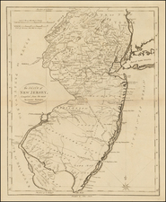 New Jersey Map By John Reid