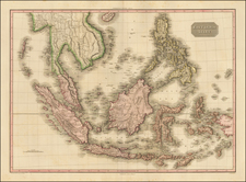 Southeast Asia, Philippines and Indonesia Map By John Pinkerton