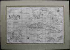 Florida and Caribbean Map By Robert Dudley
