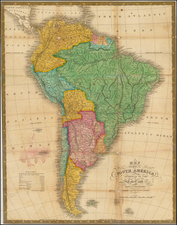 South America Map By Anthony Finley