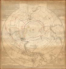 Southern Hemisphere, Polar Maps, Australia & Oceania, Australia and Oceania Map By Didier Robert de Vaugondy