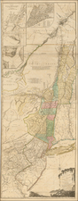 New England, New York State, Mid-Atlantic and Canada Map By Sayer & Bennett