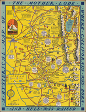California Map By Lindgren Brothers
