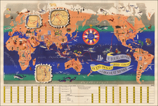 World and World Map By J.B. Jannot