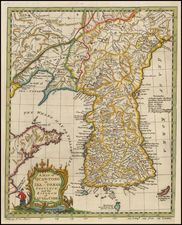 Korea Map By Thomas Kitchin