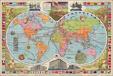 World, World and Pictorial Maps Map By McCormick & Company