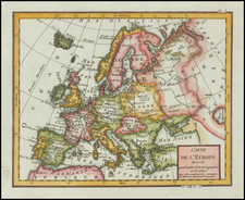 Europe and Europe Map By Citoyen Berthelon