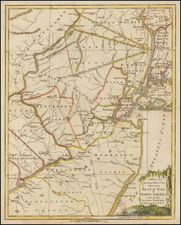 Mid-Atlantic and New Jersey Map By Universal Magazine