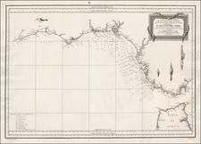 Spain Map By Don Vincente Tofiño de San Miguel