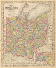 Midwest and Ohio Map By Charles Desilver
