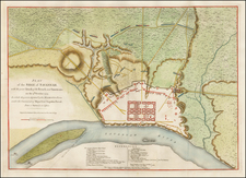 Southeast Map By Charles Stedman / William Faden