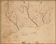 New England and Connecticut Map By Anonymous