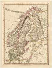 Scandinavia Map By Charles Smith