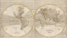 World and World Map By Charles Price