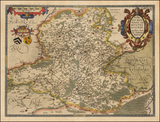 Map By Abraham Ortelius