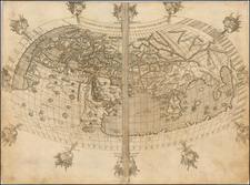 World and World Map By Francesco Berlinghieri