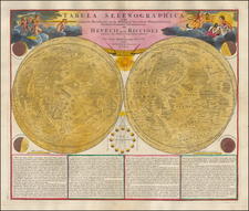 Celestial Maps Map By Johann Baptist Homann