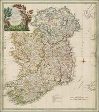 Ireland Map By Thomas Kitchin