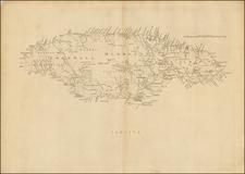 Caribbean and Jamaica Map By Thomas Jefferys