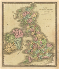 British Isles Map By Jeremiah Greenleaf