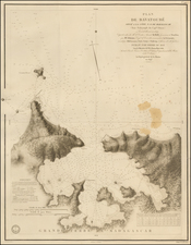 African Islands, including Madagascar Map By Depot de la Marine
